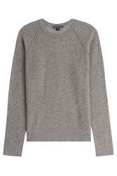 James Perse Textured Cashmere Pullover Brown