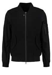 Uniforms For The Dedicated Dean Bomber Jacket Black Boiled