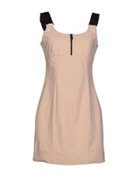 Cycle Short Dresses Beige
