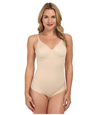 Miraclesuit Extra Firm Comfort Leg Smooth Molded Cup Bodybriefer Nude Women's Bra Beige