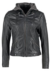 Gipsy Tiffy Leather Jacket Black