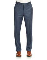 Lauren Ralph Lauren Flat Front Dress Pants Navy
