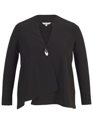 Chesca Asymmetric Jacket Black