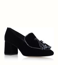 Kg By Kurt Geiger Alexa Velvet Loafers Female Black