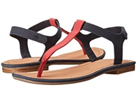 Lacoste Lortenia Dark Blue Red Women's Sandals