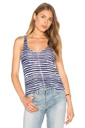 Splendid O'keeffe Stripe Loose Knit Tank Navy