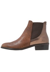 Kanna Nola Ankle Boots Cinnamon Ruggine Brown