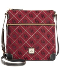 Dooney And Bourke Maxi Quilt Americana Signature Crossbody A Macy's Exclusive Style Cranberry