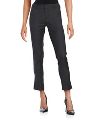 Helene Berman Cropped Dress Pants Charcoal
