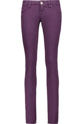 M Missoni Mid Rise Straight Leg Jeans Grape
