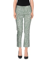 Peserico Sign Trousers 3 4 Length Trousers Women Military Green