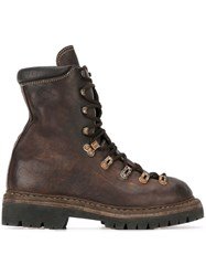 Guidi 'Trekking' Boots Brown