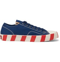 Visvim Skagway Canvas Sneakers Blue