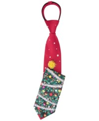 American Traditions Deck The Halls Ugly Christmas Tie