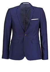 Burton Menswear London Suit Jacket Blue