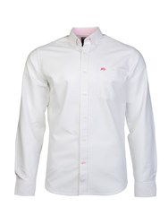 Raging Bull L S Signature Oxford Shirt White