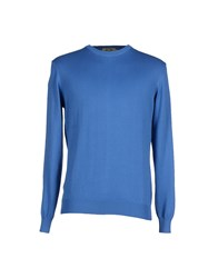 Olt Original Line Tricot Knitwear Jumpers Men Blue