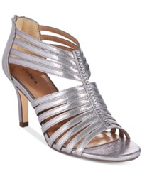 Styleandco. Style Co. Shaynaa Embellished Evening Pumps Only At Macy's Women's Shoes Pewter