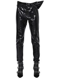 Isabel Marant Coated Cotton Pants With Bow Detail