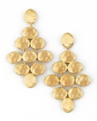 Siviglia 18K Gold Pyramid Earrings