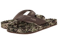 Flojos Xander Ii Camo Brown Men's Sandals Olive