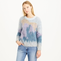 J.Crew Brushed Mohair Sweater