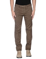 Santaniello And B. Casual Pants Dark Brown