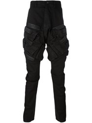 Julius Cargo Skinny Pants Black