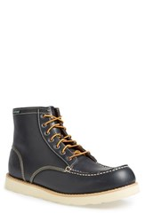 Men's Eastland 'Lumber Up' Moc Toe Boot Navy Leather