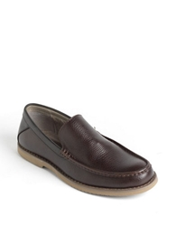 Calvin Klein Yaden Leather Loafers