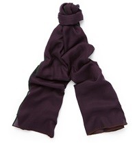 Loro Piana Winter Four In Hand Cashmere And Silk Blend Scarf Burgundy