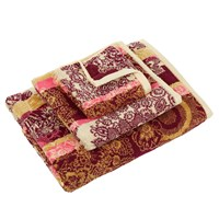 Desigual Happy Blossom Jacquard Towel Bath