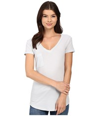 Lamade V Pocket Tee Tissue Jersey Refresh Women's Short Sleeve Pullover Blue