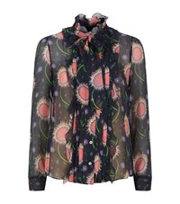 Red Valentino Floral Shirt Female Multi