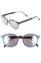 Steven Alan 'Wendell' 49Mm Retro Sunglasses Navy