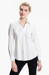 Foxcroft Fitted Shirt White