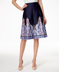 Charter Club A Line Skirt Floral Print