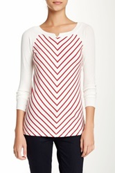Tart Long Sleeve Kendell Tee Red