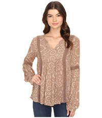 O'neill Slater Top Moonbeam Women's Clothing Taupe