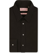 Thomas Pink Black Shirt | Is Shirt