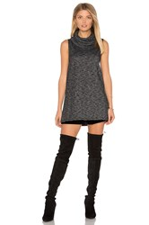 Bb Dakota Jack By Elary Knit Tunic Charcoal