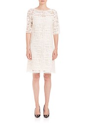 Goat Bridget Lace Shift Dress Cream