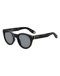Givenchy Rounded Square Sunglasses Black