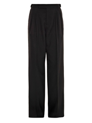 Marc Jacobs Wide Leg Wool Trousers
