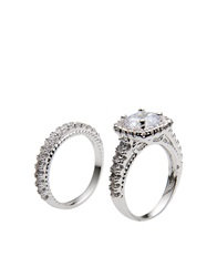 Cz By Kenneth Jay Lane Rings Silver
