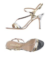 Guess By Marciano Footwear Sandals Women Platinum