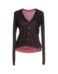 Szen Cardigans Dark Brown