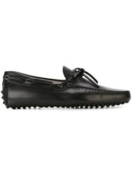 Tod's Classic Loafers Black