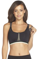 Women's Belabumbum Ultrasmooth Nursing Sports Bra Black