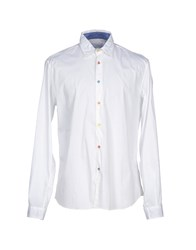 Poggianti Shirts Shirts Men White